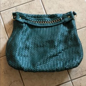 Deux Lux green shoulder bag